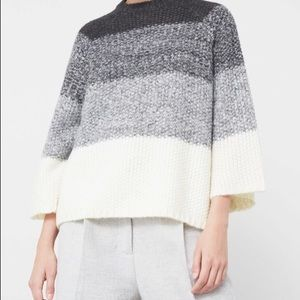Mango color-block sweater